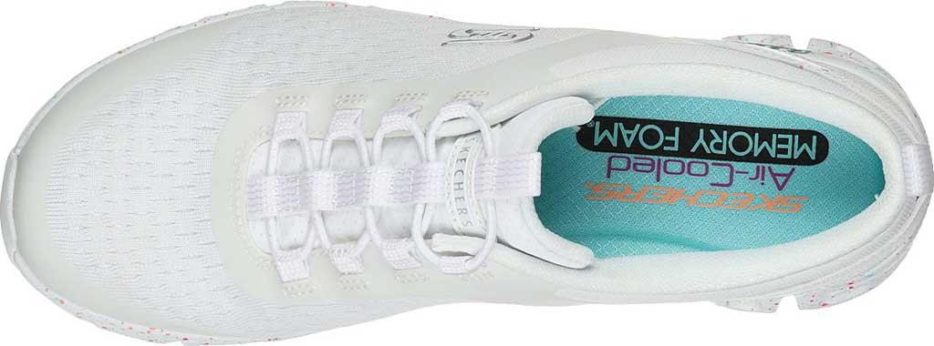 Women's Skechers Glide-Step Classic Sneaker, White/Multi, large, image 4