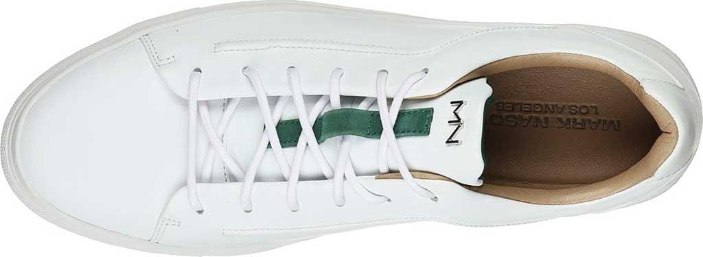 Men's Mark Nason Los Angeles Razor Nash Sneaker, White, large, image 4