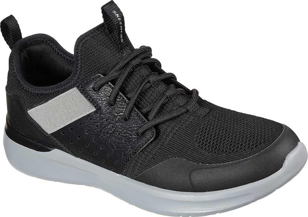 Men's Skechers Lattimore Protero Vegan Sneaker, Black, large, image 1
