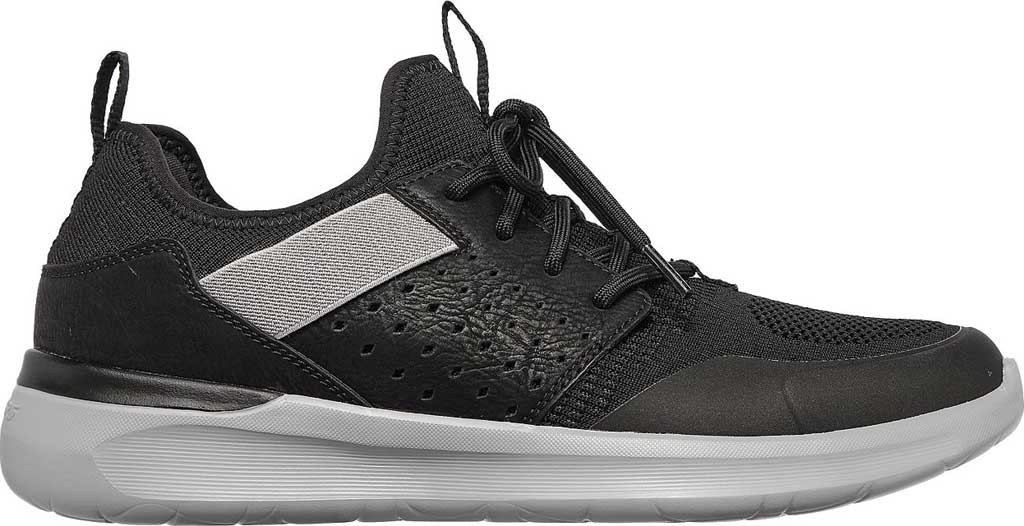 Men's Skechers Lattimore Protero Vegan Sneaker, Black, large, image 2