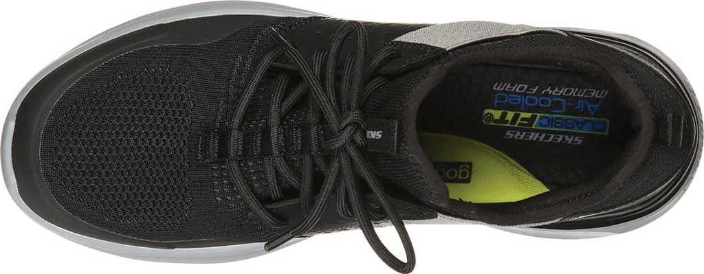 Men's Skechers Lattimore Protero Vegan Sneaker, Black, large, image 4