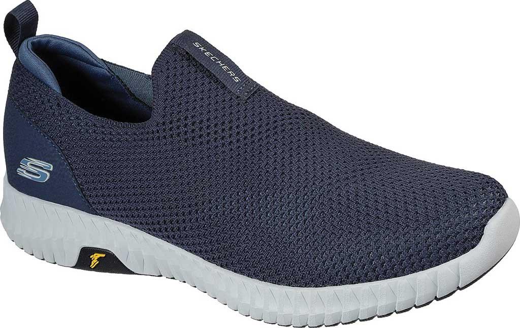Men's Skechers Elite Flex Prime Vegan Slip On Sneaker, Navy, large, image 1