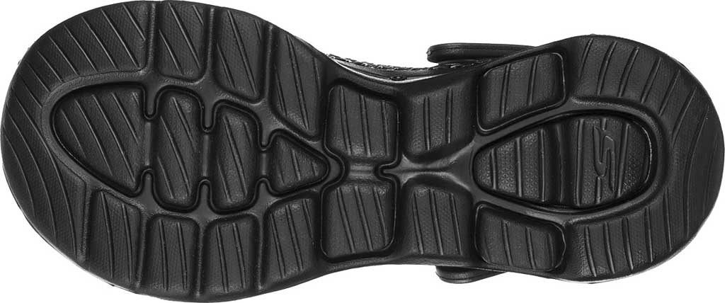 Women's Skechers Foamies: GOwalk 5 Sea Scape Clog, Black/Black, large, image 5