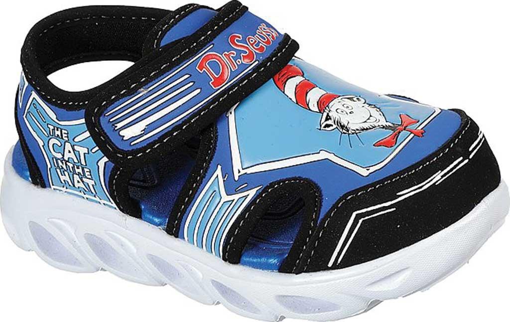 Infant Boys' Skechers Dr. Seuss Hypno Splash Seussverse Close Toe Sandal, Blue/Multi, large, image 1
