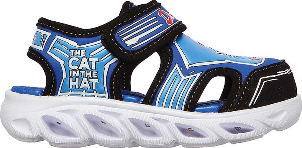 Infant Boys' Skechers Dr. Seuss Hypno Splash Seussverse Close Toe Sandal, Blue/Multi, large, image 2