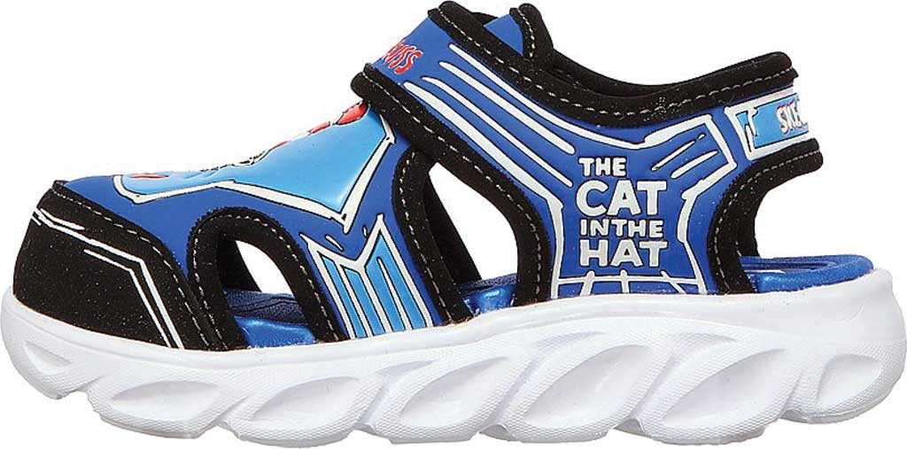 Infant Boys' Skechers Dr. Seuss Hypno Splash Seussverse Close Toe Sandal, Blue/Multi, large, image 3