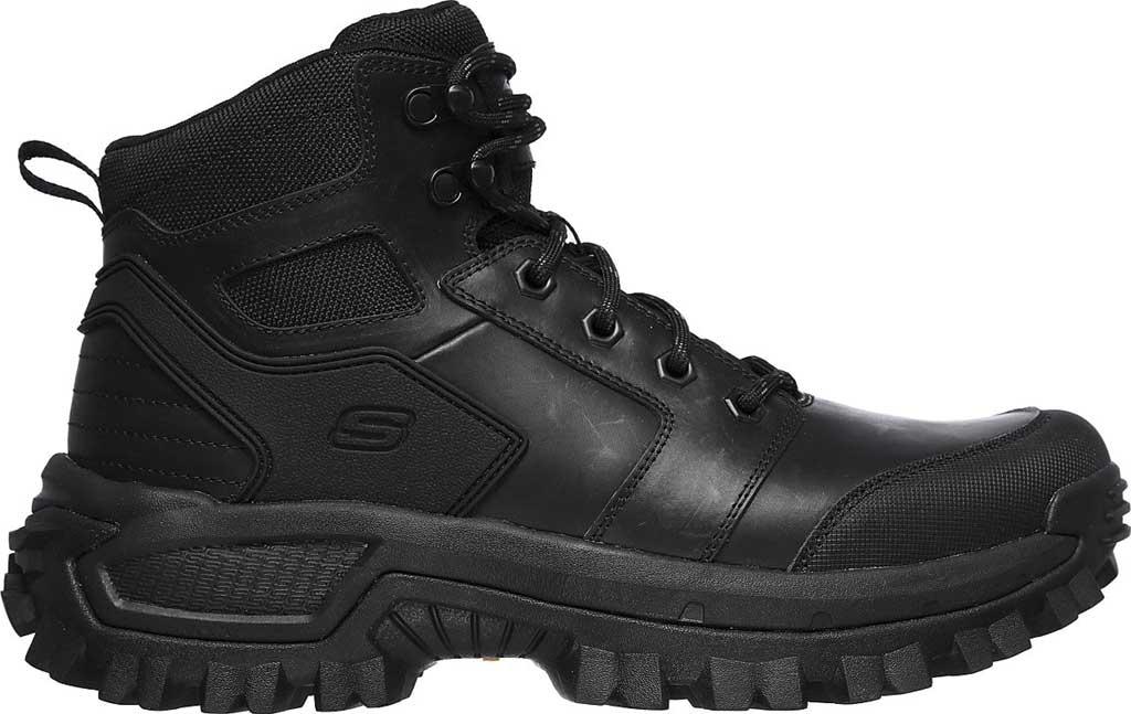 Men's Skechers Relaxed Fit Trekson Grapel Hiking Boot, Black/Black, large, image 2