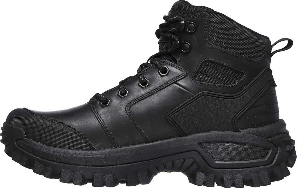 Men's Skechers Relaxed Fit Trekson Grapel Hiking Boot, Black/Black, large, image 3