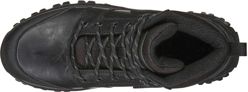 Men's Skechers Relaxed Fit Trekson Grapel Hiking Boot, Black/Black, large, image 4