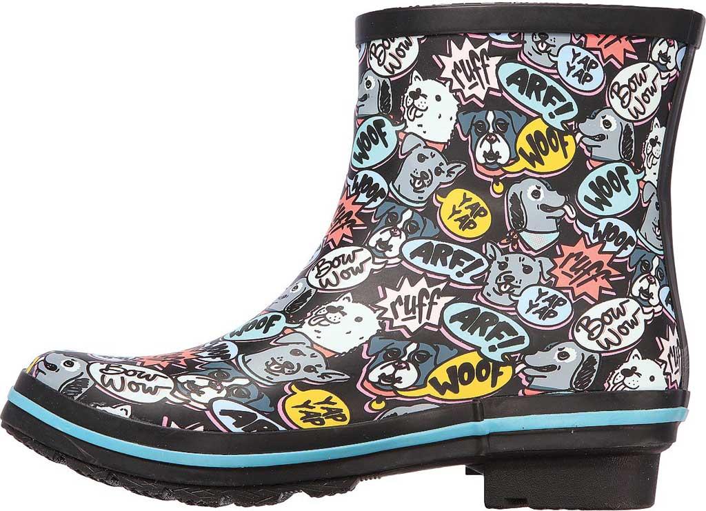 Women's Skechers BOBS Rain Check Super Woof Waterproof Boot, Black/Multi, large, image 3