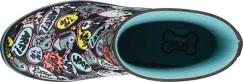 Women's Skechers BOBS Rain Check Super Woof Waterproof Boot, Black/Multi, large, image 4
