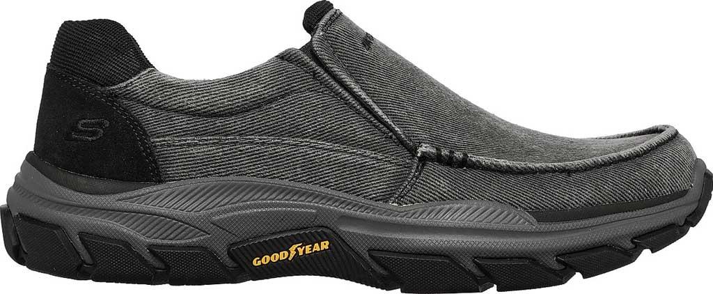 Men's Skechers Relaxed Fit Respected Vergo Slip On Sneaker, Black, large, image 2