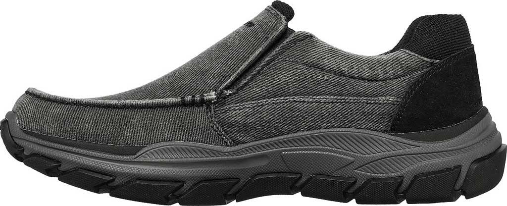 Men's Skechers Relaxed Fit Respected Vergo Slip On Sneaker, Black, large, image 3