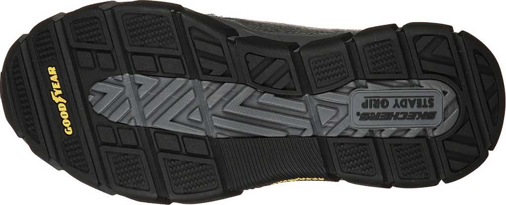 Men's Skechers Relaxed Fit Respected Vergo Slip On Sneaker, Black, large, image 5