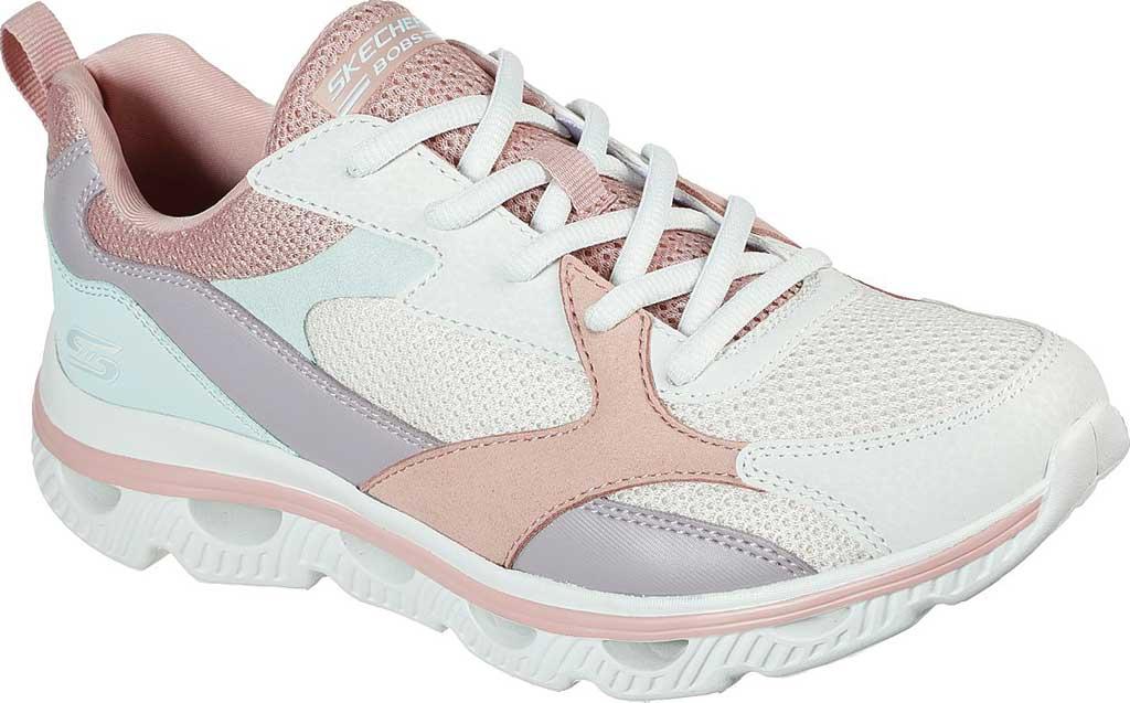 Women's Skechers BOBS Sport Arc Waves Glide & Fly Sneaker, Pink/Multi, large, image 1
