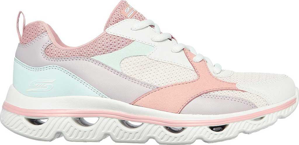 Women's Skechers BOBS Sport Arc Waves Glide & Fly Sneaker, Pink/Multi, large, image 2