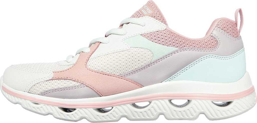 Women's Skechers BOBS Sport Arc Waves Glide & Fly Sneaker, Pink/Multi, large, image 3
