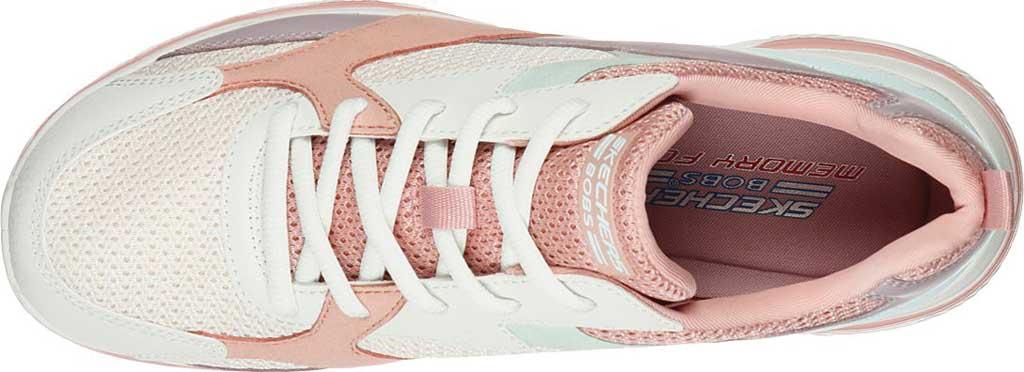 Women's Skechers BOBS Sport Arc Waves Glide & Fly Sneaker, Pink/Multi, large, image 4