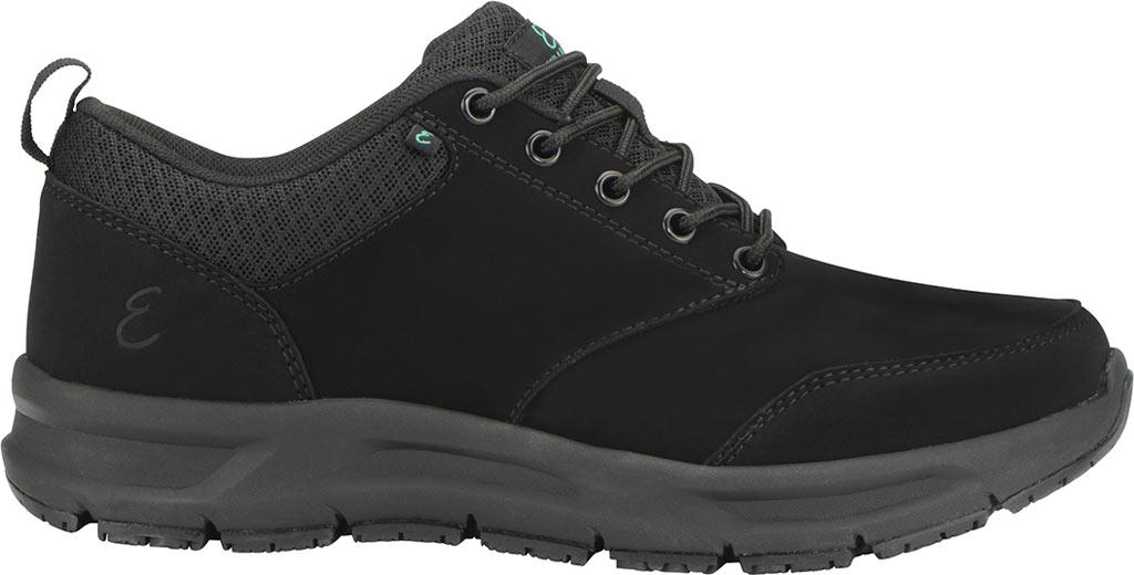Women's Emeril Lagasse Footwear Quarter Work Shoe, Black Leather, large, image 2