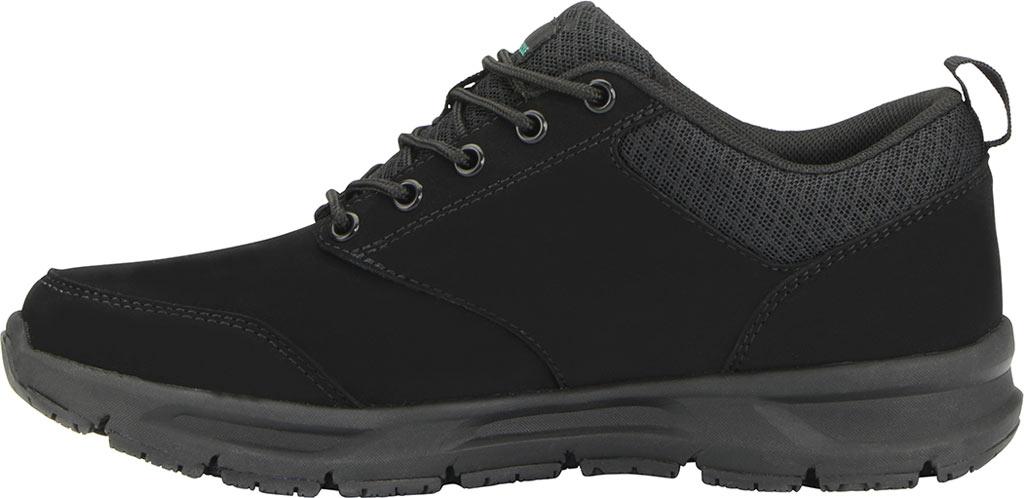 Women's Emeril Lagasse Footwear Quarter Work Shoe, Black Leather, large, image 3