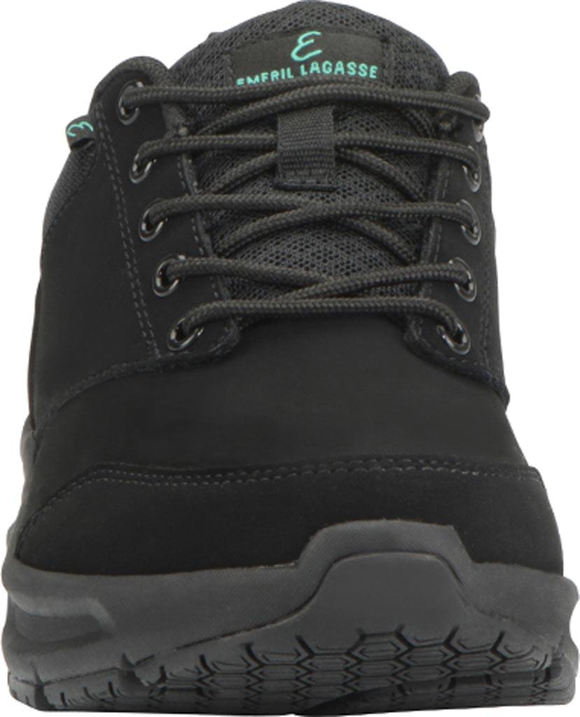 Women's Emeril Lagasse Footwear Quarter Work Shoe, Black Leather, large, image 4