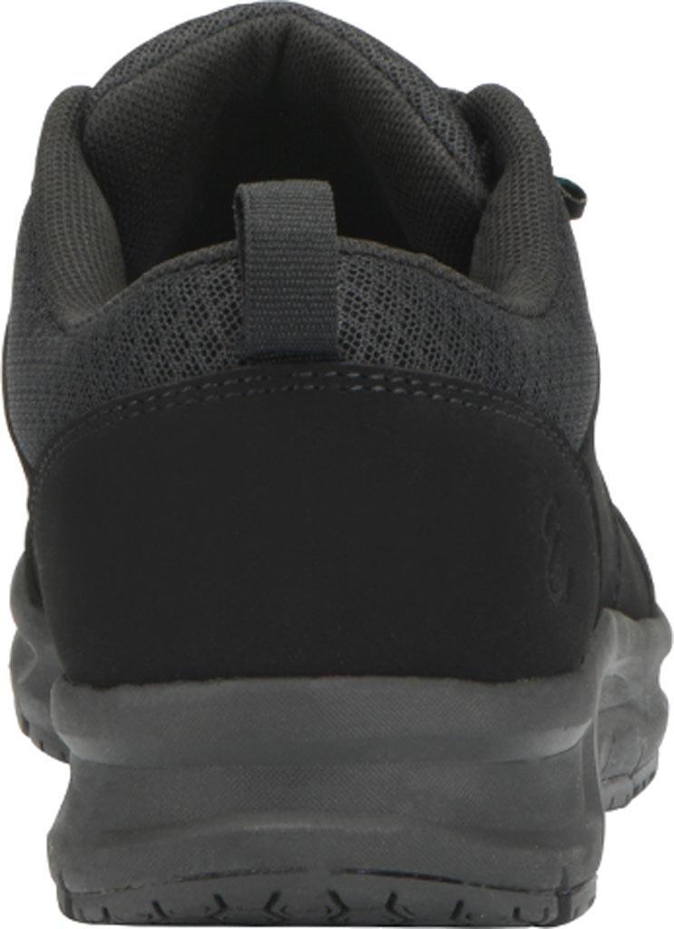 Women's Emeril Lagasse Footwear Quarter Work Shoe, Black Leather, large, image 5