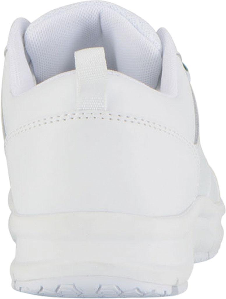 Women's Emeril Lagasse Footwear Quarter Work Shoe, White Smooth Leather, large, image 4