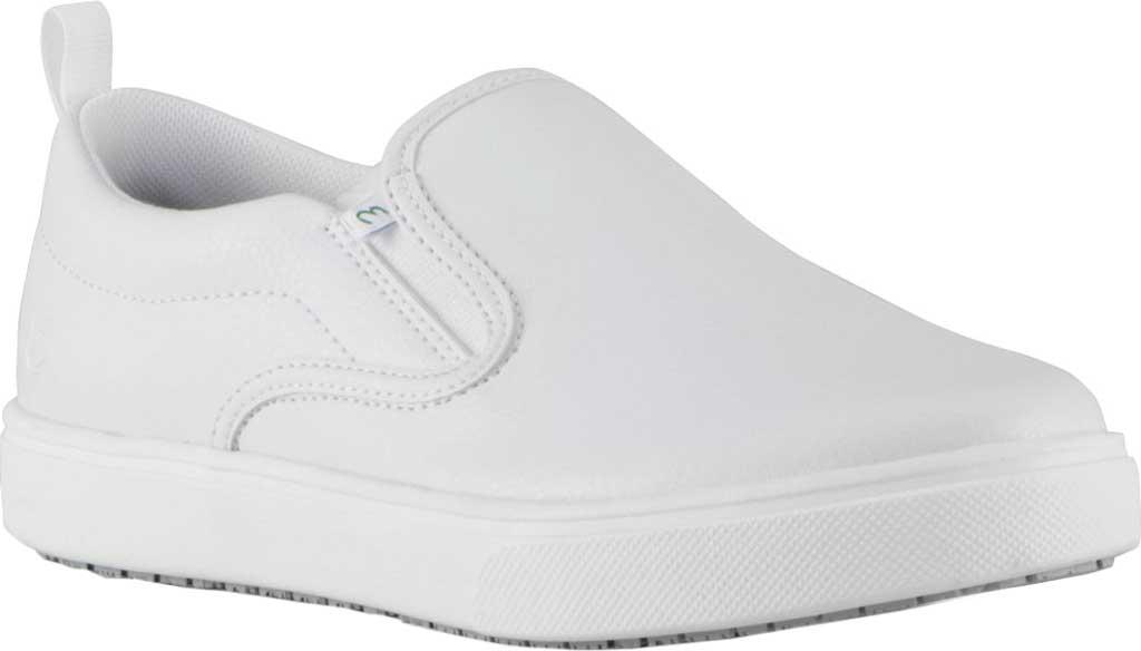 Women's Emeril Lagasse Footwear Royal EZ-Fit Slip-On Sneaker, White Tumbled Leather, large, image 1