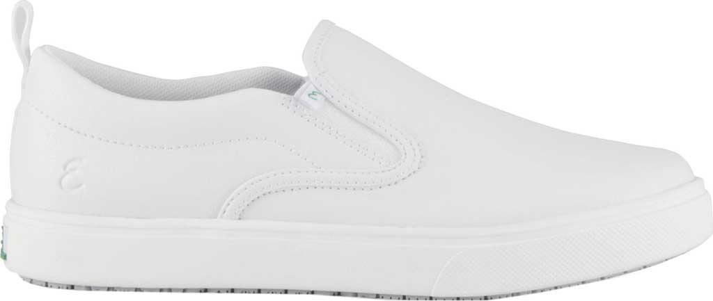 Women's Emeril Lagasse Footwear Royal EZ-Fit Slip-On Sneaker, White Tumbled Leather, large, image 2