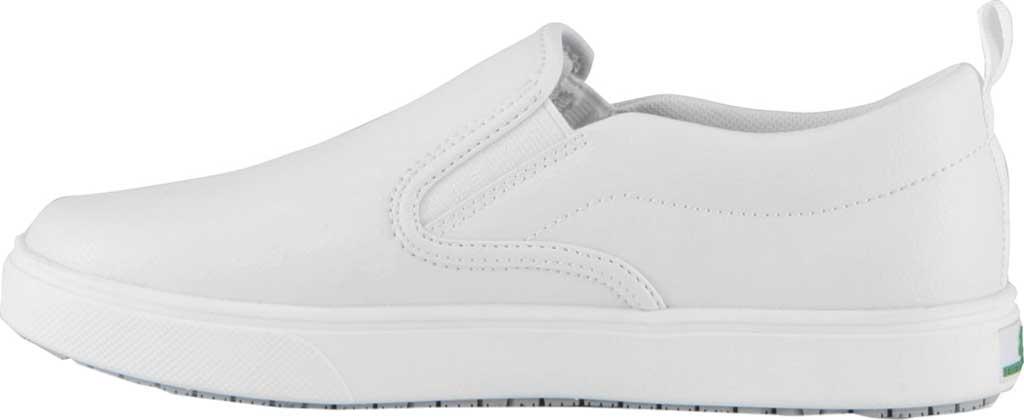 Women's Emeril Lagasse Footwear Royal EZ-Fit Slip-On Sneaker, White Tumbled Leather, large, image 3