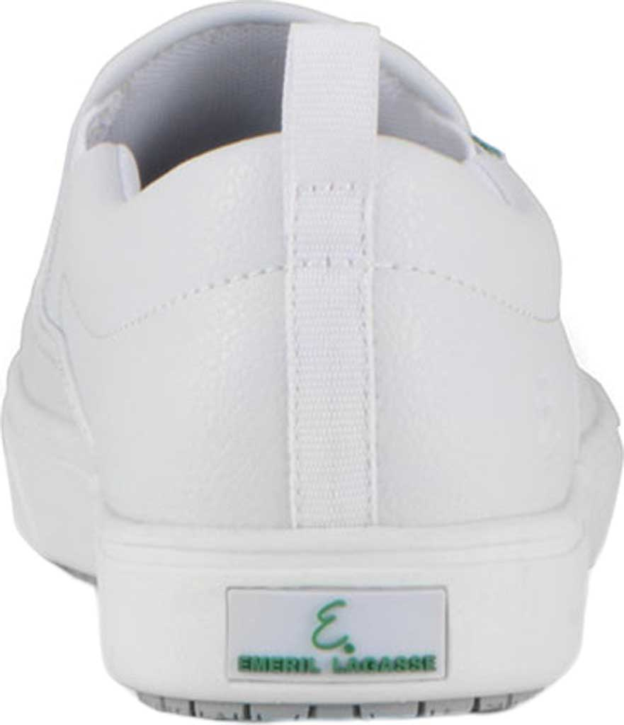 Women's Emeril Lagasse Footwear Royal EZ-Fit Slip-On Sneaker, White Tumbled Leather, large, image 4