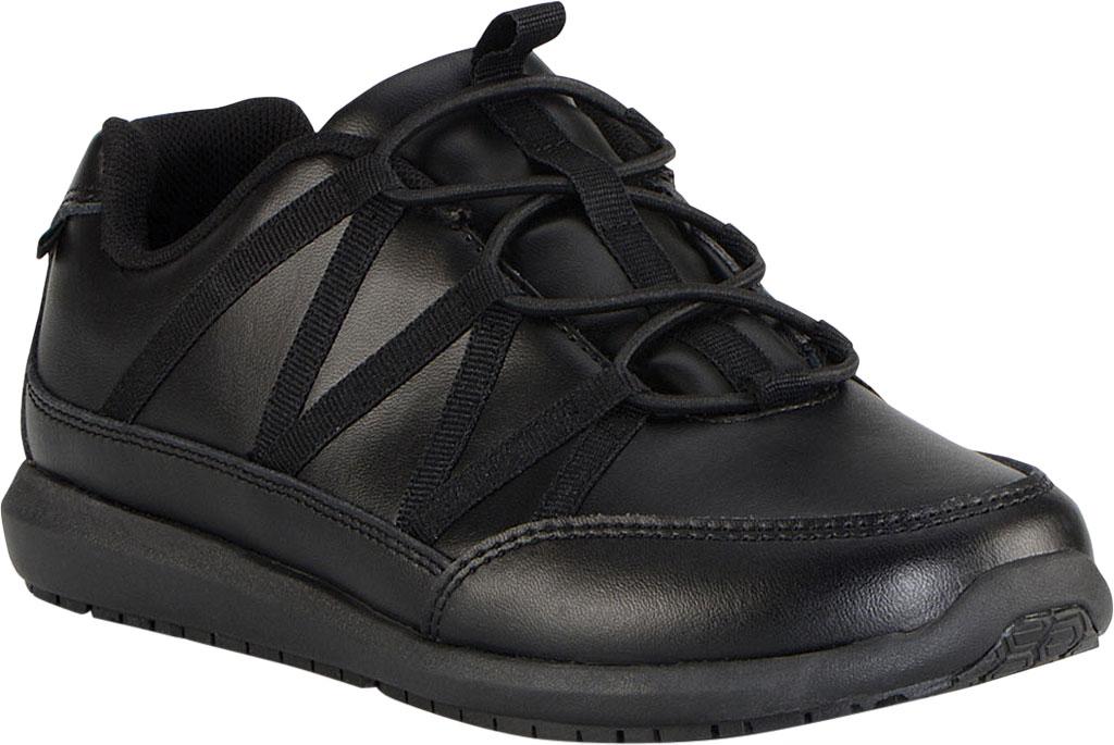 Women's Emeril Lagasse Footwear Miro EZ-Fit Slip-On Work Sneaker, Black Leather, large, image 1