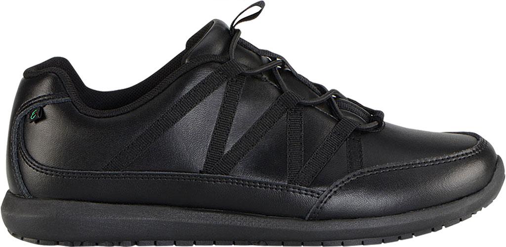 Women's Emeril Lagasse Footwear Miro EZ-Fit Slip-On Work Sneaker, Black Leather, large, image 2