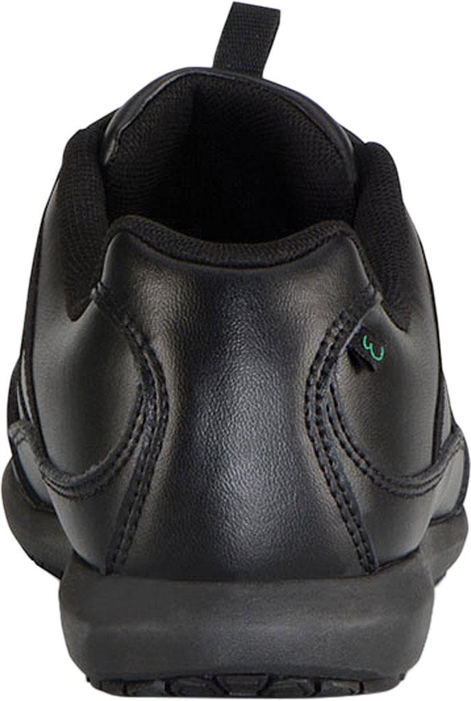 Women's Emeril Lagasse Footwear Miro EZ-Fit Slip-On Work Sneaker, Black Leather, large, image 4