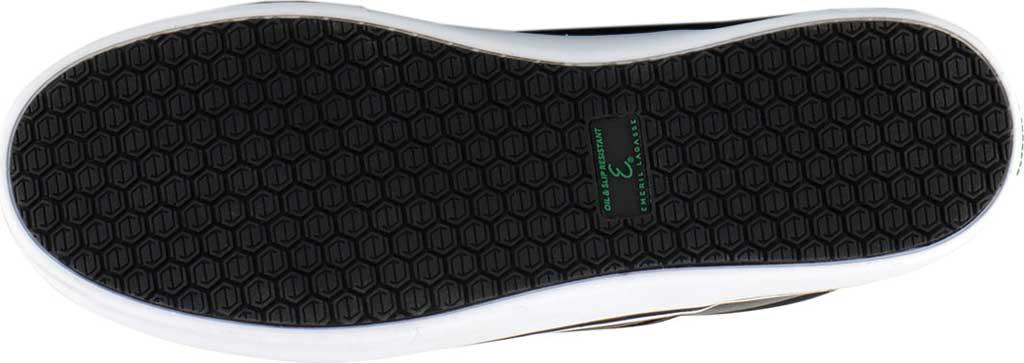 Men's Emeril Lagasse Footwear Royal Tumbled EZ-Fit Slip On Sneaker, Black/White Tumbled Leather, large, image 6