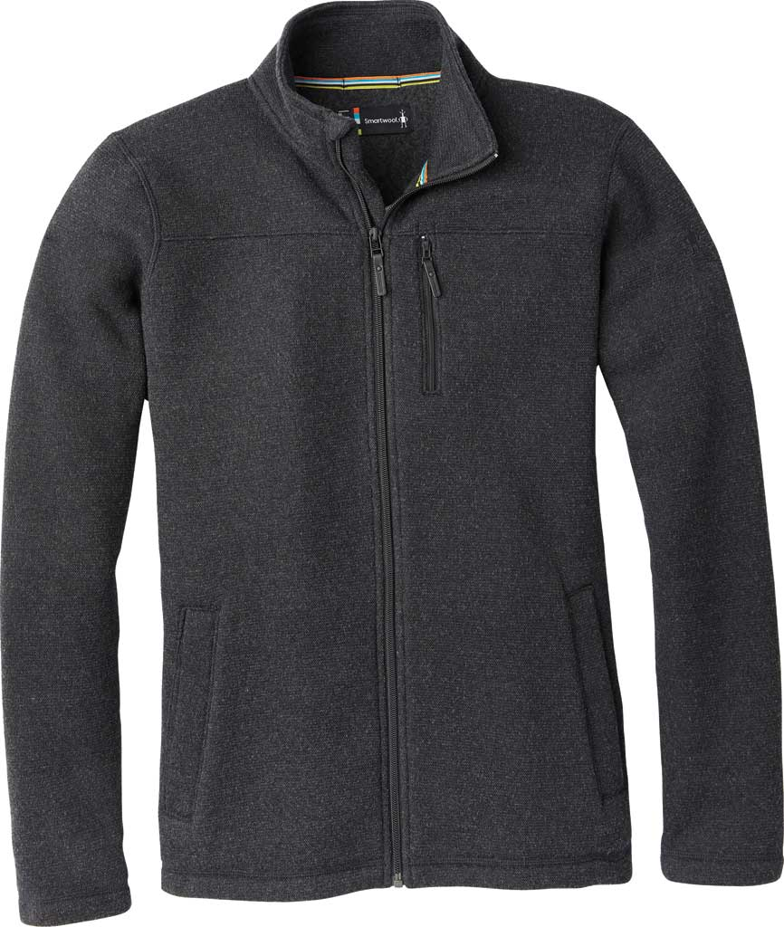 Men's Smartwool Hudson Trail Fleece Full Zip Jacket, , large, image 1
