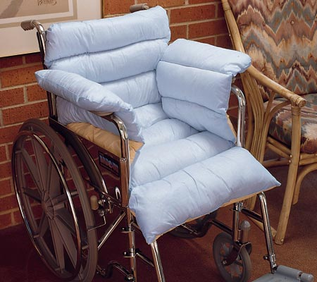 Spenco Silcore Wheelchair Pad, White, large, image 2