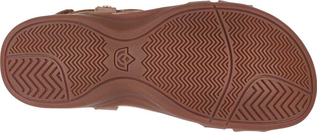 Women's Spenco Cross-Strap Sandal, Tan Synthetic Polyurethane, large, image 5