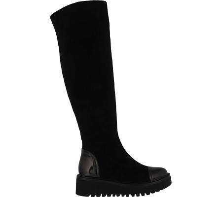 Women's Azura Quappa Boot, Black Micro Suede, large, image 2