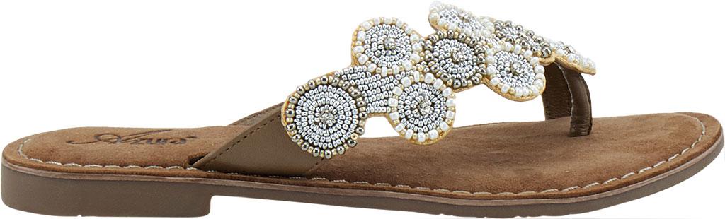 Women's Azura Mayra Toe Loop Sandal, Tan Multi Leather, large, image 2