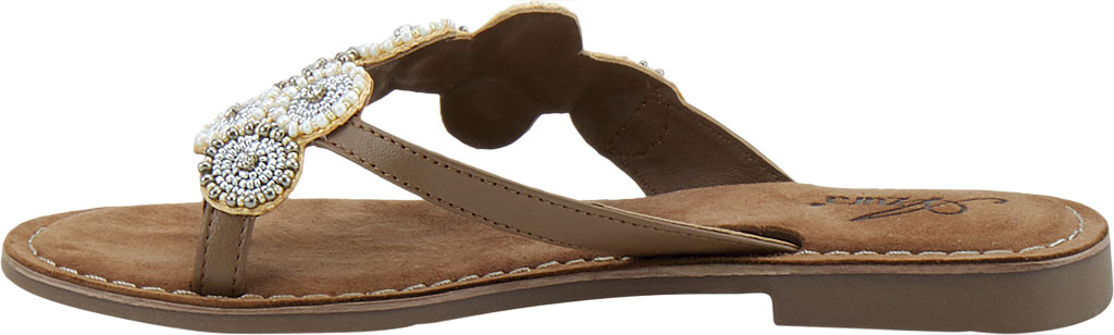 Women's Azura Mayra Toe Loop Sandal, Tan Multi Leather, large, image 3