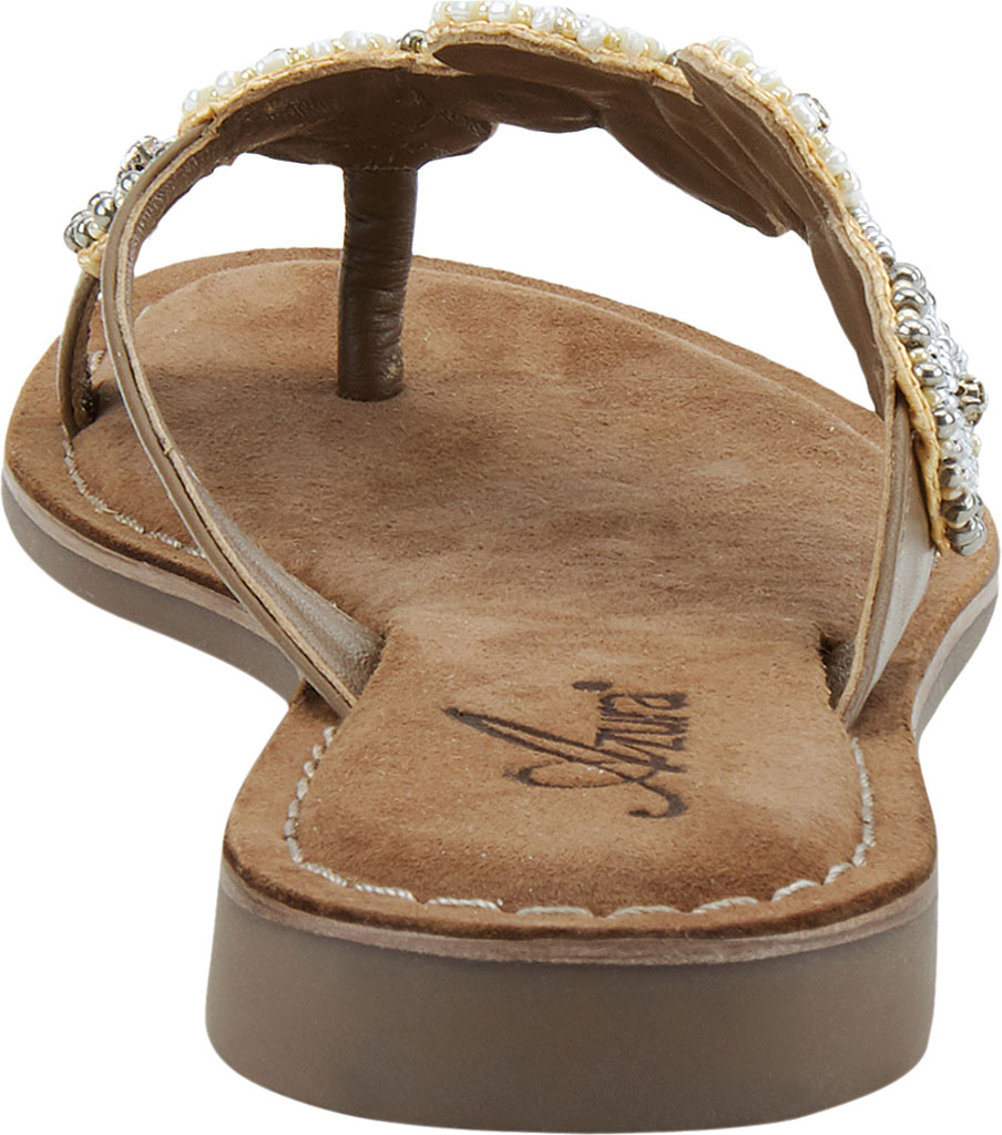 Women's Azura Mayra Toe Loop Sandal, Tan Multi Leather, large, image 4