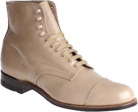 Men's Stacy Adams Madison 00015, Taupe Kidskin Leather, large, image 1