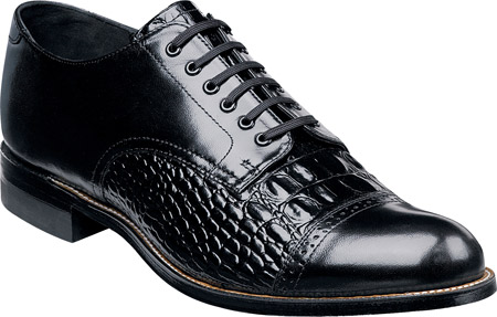 Men's Stacy Adams Madison 00034, Black Leather, large, image 1