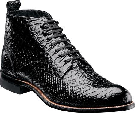 Men's Stacy Adams Madison 00057, Black Leather, large, image 1