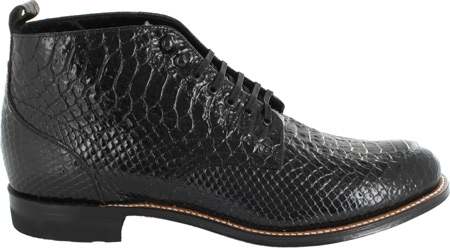 Men's Stacy Adams Madison 00057, Black Leather, large, image 2