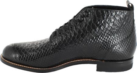 Men's Stacy Adams Madison 00057, Black Leather, large, image 3
