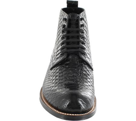 Men's Stacy Adams Madison 00057, Black Leather, large, image 4