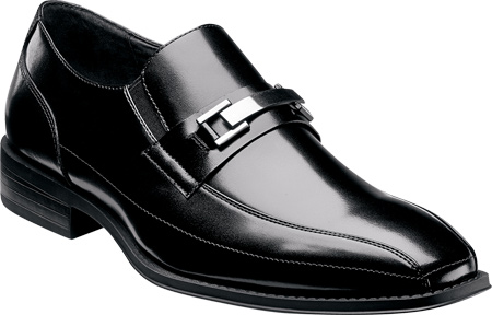 Men's Stacy Adams Wakefield 20141, Black Leather, large, image 1