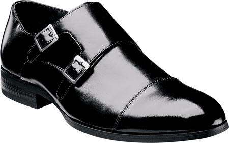 Men's Stacy Adams Gordon 20148, Black Leather, large, image 1